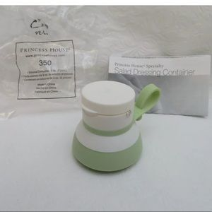350 Princess House On The Go Salad Dress Container